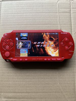PSP Red Like New With 5k+ Games And Movies 🔥 for Sale in Santa Ana, CA
