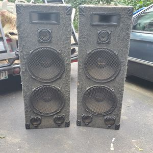Pro Audio 5ft Speakers for Sale in Haverhill, MA