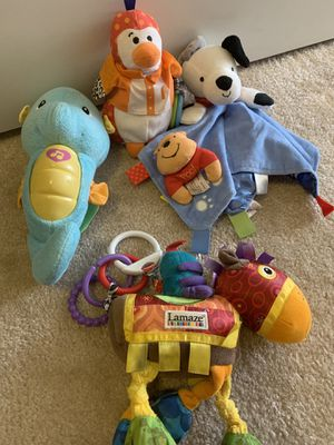 Toys, clothes, bedding and more for baby for Sale in Falls Church, VA