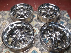4 Big Boys Boss Chrome Rims 22's for Sale in Portland, OR
