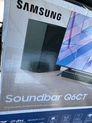 Samsung Harman Kardon HW-Q6CT 5.1Ch Bluetooth Soundbar with Subwoofer for Sale in Alpharetta, GA
