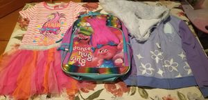 Trolls backpack sweater and tunic/dress for Sale in Aurora, CO