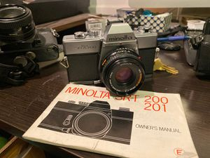 Minolta SRT 200 film camera for Sale in East Los Angeles, CA