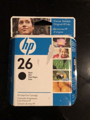 New hp 26 black ink for Sale in Saint Albans, WV
