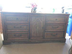 Gorgeous dresser with 6 drawers and a door cabinet for Sale in San Diego, CA