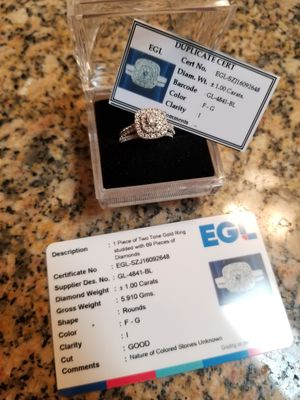 Engagement ring and band for Sale in Haines City, FL