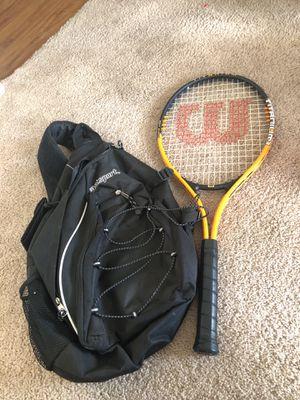 Titanium soft shock 3 tennis racket & backpack for Sale in Phoenix, AZ