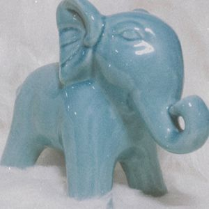 Decorative Blue Elephant for Sale in Tuscola, TX