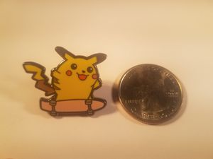 *SHIP ONLY* Skateboarding Pikachu Hard Enamel Collectible Pokemon Pin Badge for Sale in Phoenix, AZ