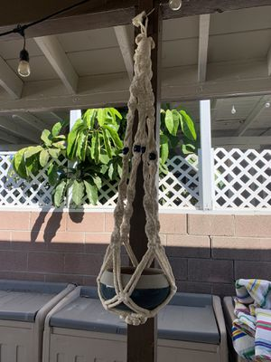 Macrame plant holder for Sale in Whittier, CA