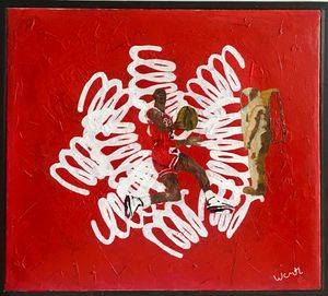 ''Watch me succeed''/ art painting by artist W.C-M.T.L for Sale in Alexandria, VA