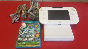 Nintendo Wii U + Mario Bros U for Sale in Tucson, AZ