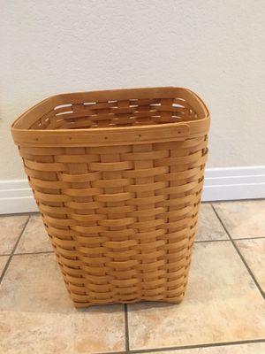 Longaberger medium waste basket 11703 for Sale in Spring Valley, NV