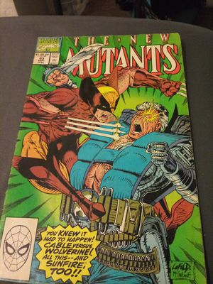 The new mutants #93 key issues comic books for Sale in Chicago, IL