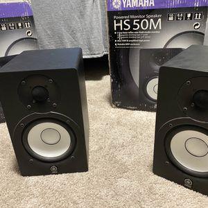Yamaha HS50 Powered Studio Monitors (pair) for Sale in Camas, WA