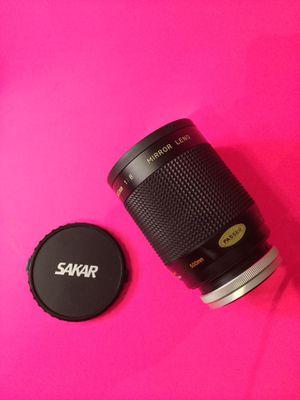 Sakar 500 mm f8 mirror lens for Sale in Hialeah, FL