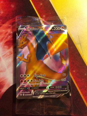 Charizard V SWSH050 Promo Holo Foil Holographic Rare Pokemon Card TCG Sword & Shield SEALED for Sale in Anaheim, CA