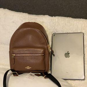COACH Brown Mini Charlie backpack $150 for Sale in Santa Ana, CA