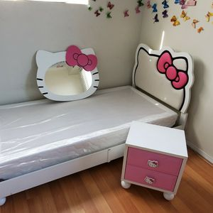 Children's Bed Twin Size (Hello Kitty Bed) for Sale in Los Alamitos, CA