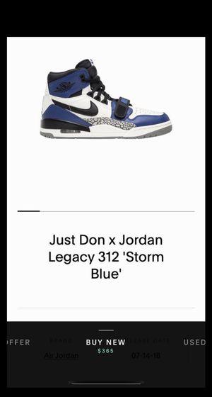 Just Don x Jordan 312 'Storm Blue' for Sale in El Monte, CA