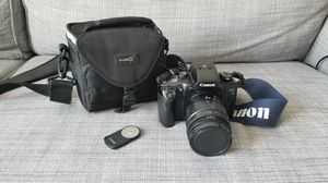 Canon EOS33 + Tamron lens + remote control for Sale in Seattle, WA