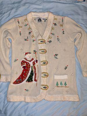 VTG Santa Cardigan Sweater for Sale in Bear Creek Village, PA