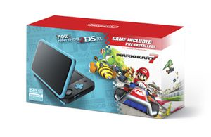 """""""New"""" Nintendo 2DS XL System with Mario Kart 7 Pre-installed game Black Turquoise Blue Handheld console no 3ds for Sale in Phoenix, AZ"""