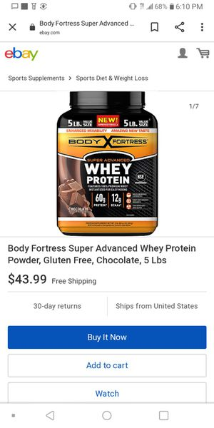 Whey Protein 5lbs for Sale in Chicago, IL