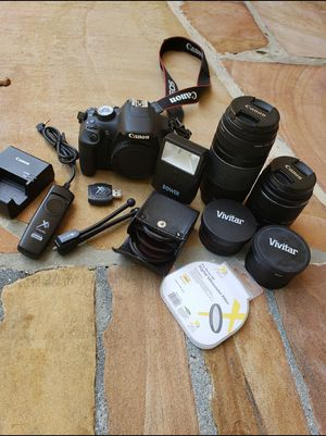 Canon EOS Rebel 1200D Camera Lens Flash Filters for Sale in Fort Lauderdale, FL