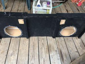 10 inch dual subwoofer box for Sale in Rocky Mount, VA