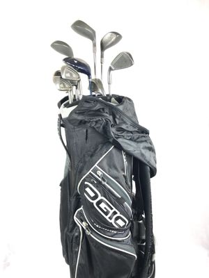 Ogio golf bag with 10 clubs for Sale in Herndon, VA