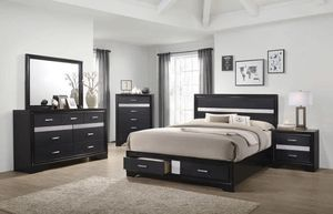 4 pieces queen bedroom set for Sale in Chino, CA