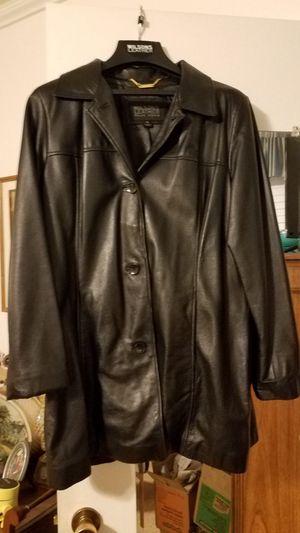 Wilson XL Leather Coat Black for Sale in Phoenix, AZ