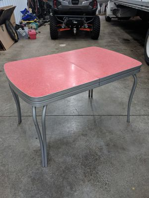 Red Formica Kitchen table for Sale in Zimmerman, MN