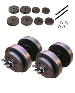 40lb Dumbbell Weight Set for Sale in Dallas,  TX