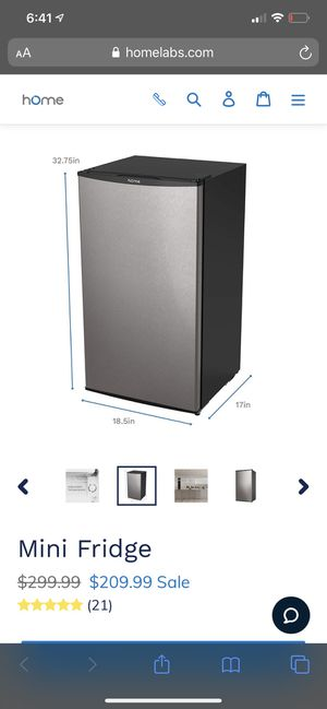 Homelabs mini fridge (brand new, unopened) for Sale in Great Neck, NY