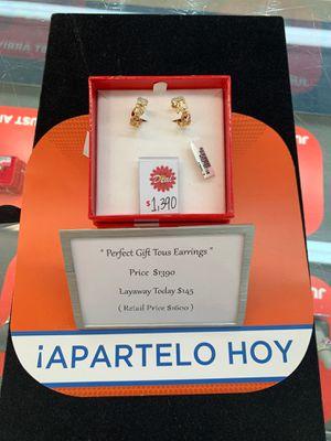"""Nice """"TOUS"""" Earrings for Sale in McAllen, TX"""