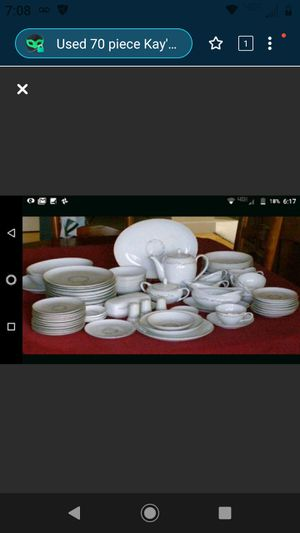 72- piece Kayson antique collectible China for Sale in Cincinnati, OH