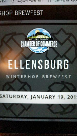 Ellensburg Winterhop Brewfest Tickets for Sale in Ellensburg, WA