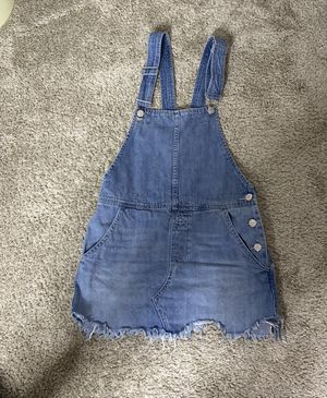 Free People Dress Overall Denim size 0 for Sale in Dallas, TX