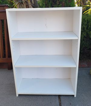 Small White Bookcase for Sale in San Diego, CA