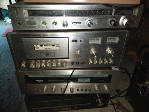 old school stereo receiver amplifiers work great I believe there's even a couple tube radios for Sale in Seattle, WA