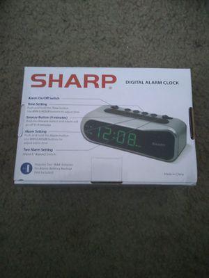 Sharp alarm clock new in box for Sale in Las Vegas, NV
