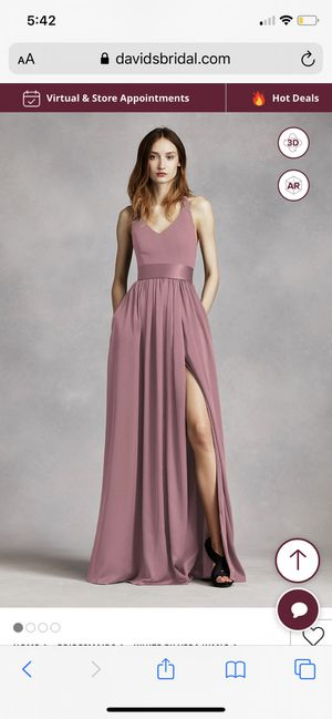 Vera Wang bridesmaid dress for Sale in Redwood City, CA