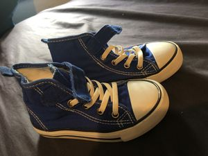 Blue converse looking shoes size 9 for Sale in Baltimore, MD