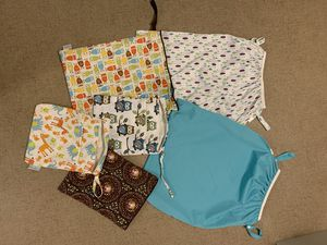 Wet bags for cloth diapers for Sale in Pittsburgh, PA