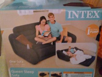 Intex Queen Sofa Sleeper! Pump available for additional $10 for Sale in Columbus,  OH
