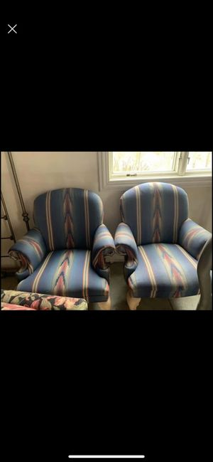 Wing back chairs for Sale in North Bend, OH