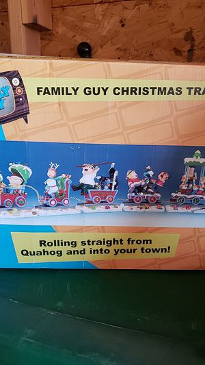 Family guy christmas train for Sale in Ontario, CA