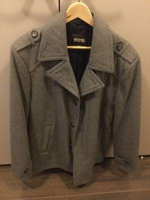 Michael Kors Wool Pea Coat (Men's Medium, Never Worn) for Sale in Philadelphia, PA